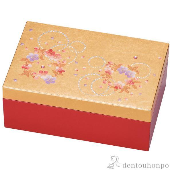 プチアクセサリーBOX かりん≪!メーカー直送品!通常1~3営業日で出荷≫ ( 名入れ可 アクセサリー入れ 収納ボックス ケース BOX 宝物 山中漆器 )