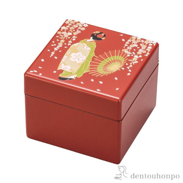 【送料無料】小箱 京桜≪1~3営業日で出荷≫ ( 名入れ可 アクセサリー入れ 収納ボックス ケース BOX 宝物 山中漆器 )