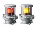 パトライト(PATLITE) 防爆LEDフラッシュ灯 REL-M2  AC100-230V (本体色は選択ください、赤、黄) 送料無料