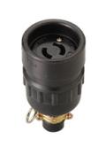 明工社 引掛防水コネクターボデー 2P 20A 250V   1箱(5個入)