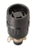明工社 引掛防水コネクターボデー 3P接地 20A 250V   1箱(5個入)