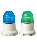 パトライト(PATLITE) 小型LED表示灯 PEW-100AB AC100V Ф82 ブザー(AC200Vお選びいただけます。色:緑or青) 送料無料