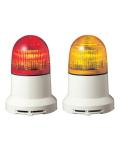 パトライト(PATLITE) 小型LED表示灯 PEW-100AB AC100V Ф82 ブザー(AC200Vお選びいただけます。色:赤or黄) 送料無料