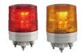日恵製作所 LED超小型薄型回転灯  ニコミニ・スリム VL04S-024A AC/DC12〜24V Ф45 制御入力有り(赤or黄)