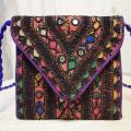 インドミラー刺繍ポシェット