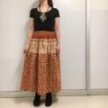 ルクマニ プイ族柄スカート RSK801