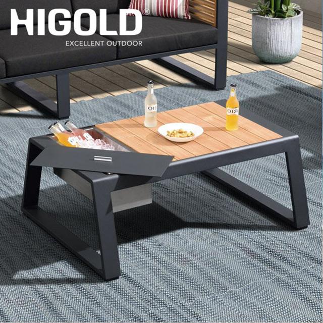 ヒゴールド ニューヨーク クーラーテーブル 専用カバー付(HIGOLD new york cooler Table)【大型宅配便 送料無料】