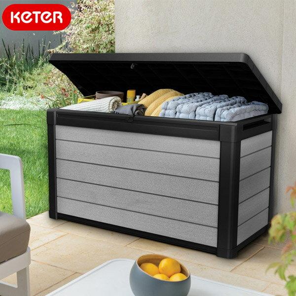 ケター デナリデッキボックス380L (KETER Denali Deck Box)【大型宅配便】