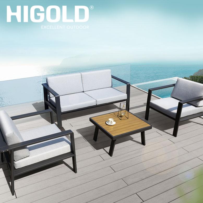 先行予約9月中旬頃入荷予定 ヒゴールド ノフィプロ ダブルソファ4点セット (HIGOLD Nofi pro double sofa 4set) 【大型宅配便・ 代引き不可】
