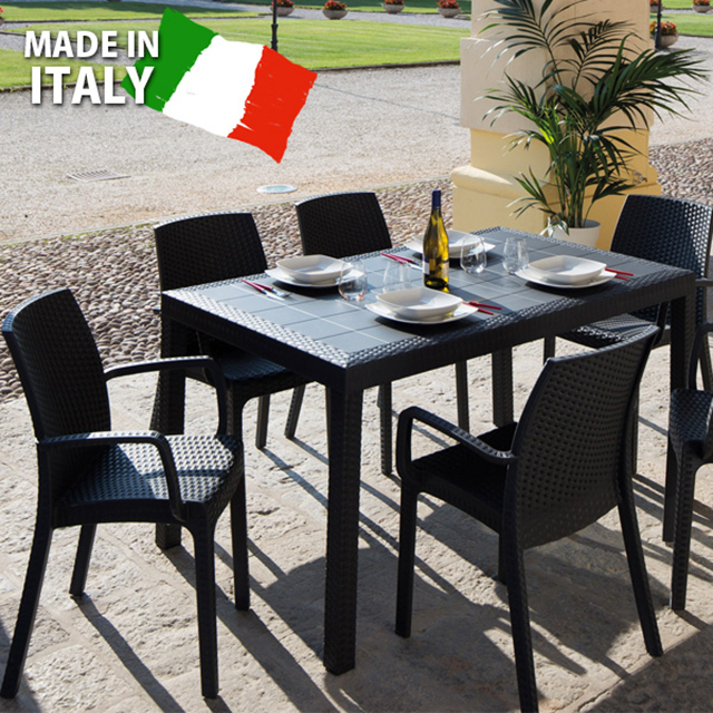 先行予約 イノバ ザフィール テーブル5点セット (innova Zaffiro table 5set)【大型宅配便】