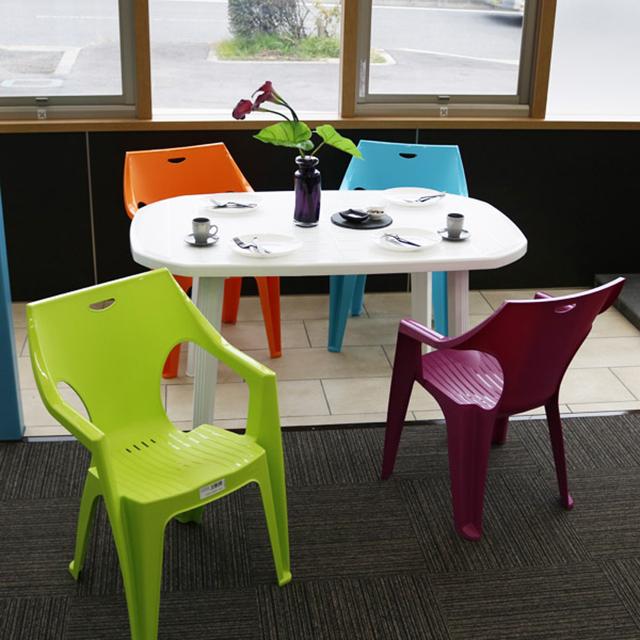 イノバ サロモネラウンドダイニングテーブル&クレタチェア5点セット(innova SALOMONE Table KRETA Chair)【大型宅配便】