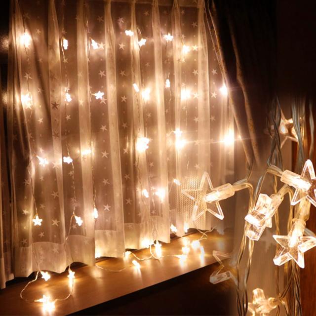 DEPOS カーテンライト48球 スター(DEPOS Curtain Light Star) 【送料無料】