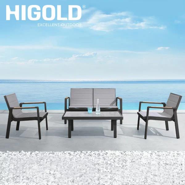 ガーデンファニチャー HIGOLD Nofi 2.0 2シート 4点セット