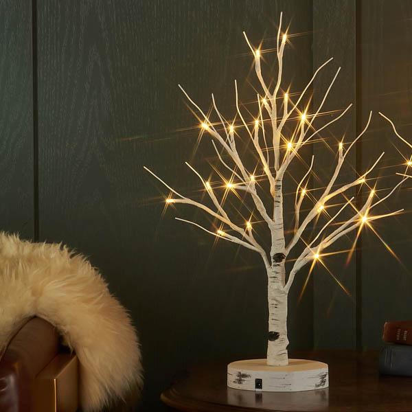 DEPOS シラカバツリー ブランチライト  ミニ  USB付き (DEPOS birch tree branch light mini USB set) 【送料無料】