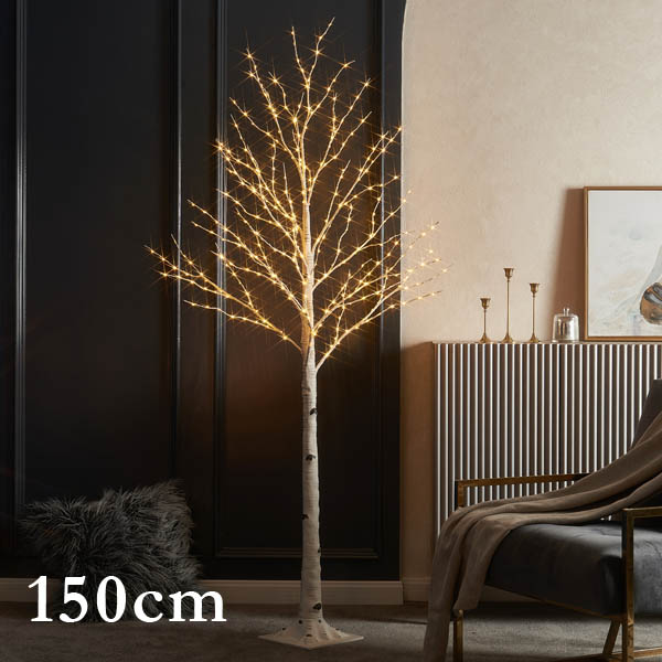 DEPOS シラカバツリー ブランチライト 150cm (DEPOS birch tree branch light 150cm) 【送料無料】