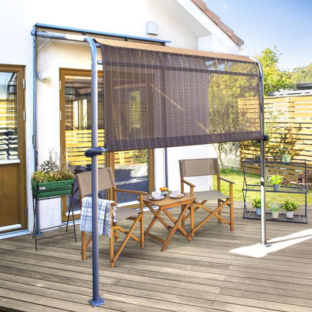 クールサマーオーニング ポーチ 2000 ブラッシュウッド アーバングレー (Cool summer awning porch 2000 Brushwood urbangray)【代金引換・同梱不可】