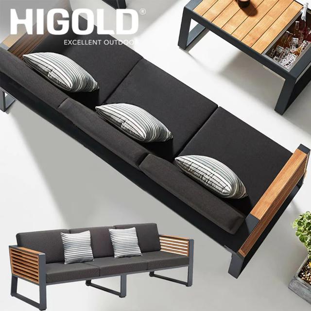 先行予約10月下旬入荷予定 ヒゴールド ニューヨーク 3シートソファー (HIGOLD New York 3sete sofa)【大型宅配便Y・代金引換不可・送料無料】
