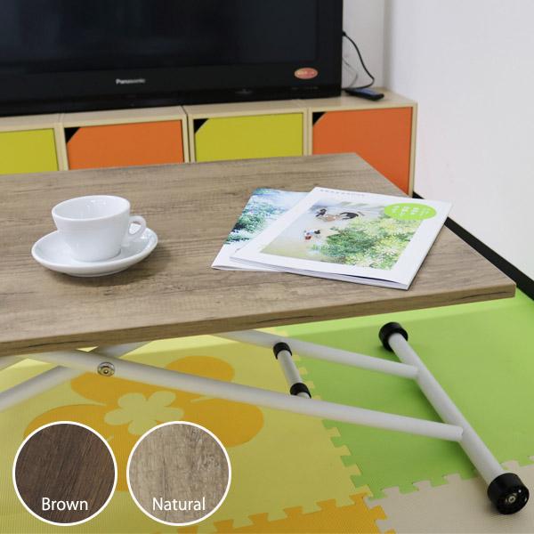 ガス圧昇降テーブル コンパクト 90×60cm (Lifting table compact 90×60) 【大型宅配便】