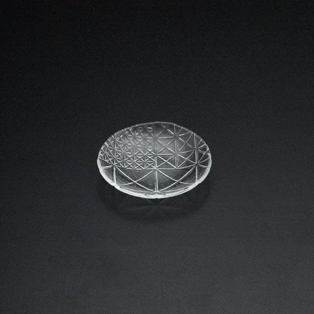 ガラスの皿 舫 手塩皿2215W