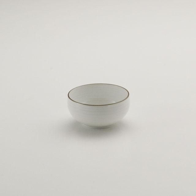 白磁千段 豆鉢
