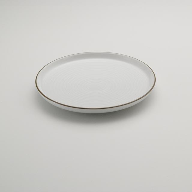 白磁千段 7号平皿