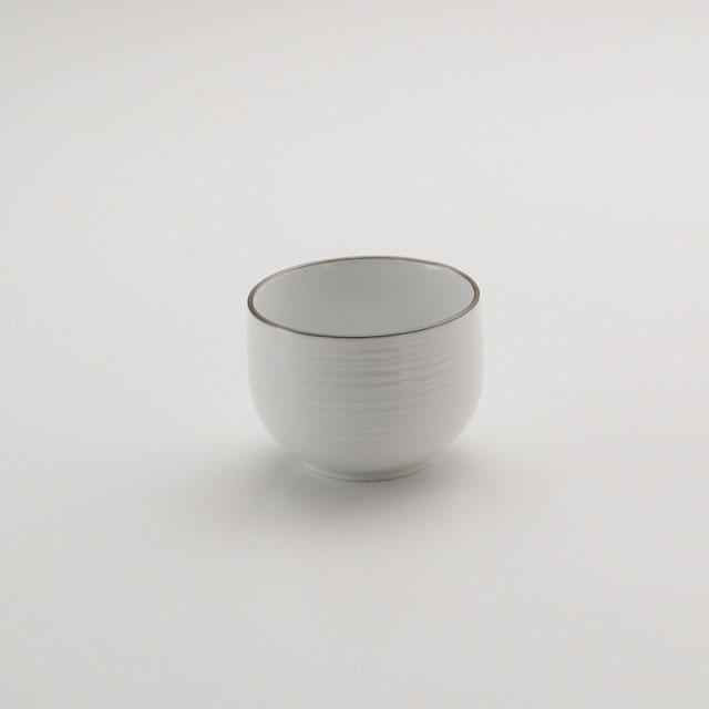 白磁千段 煎茶