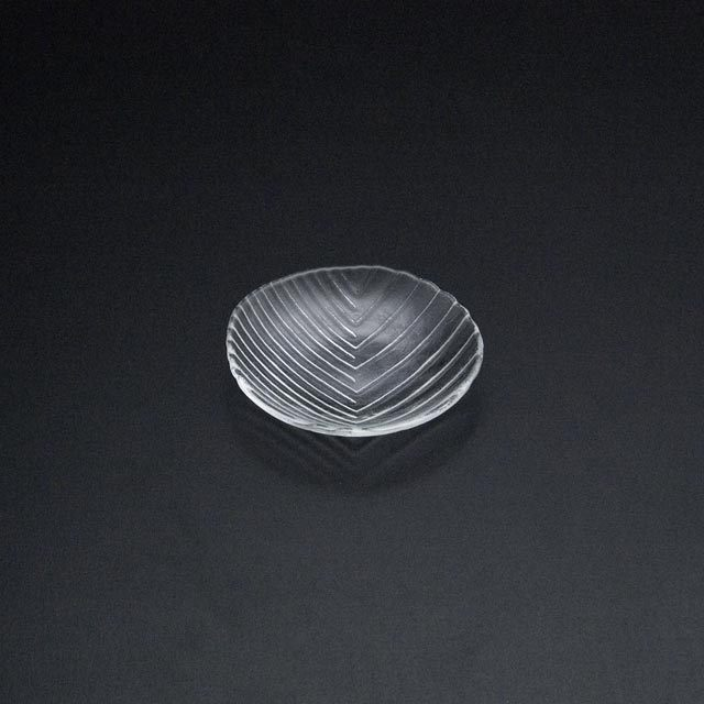 ガラスの皿 舫 手塩皿2214W