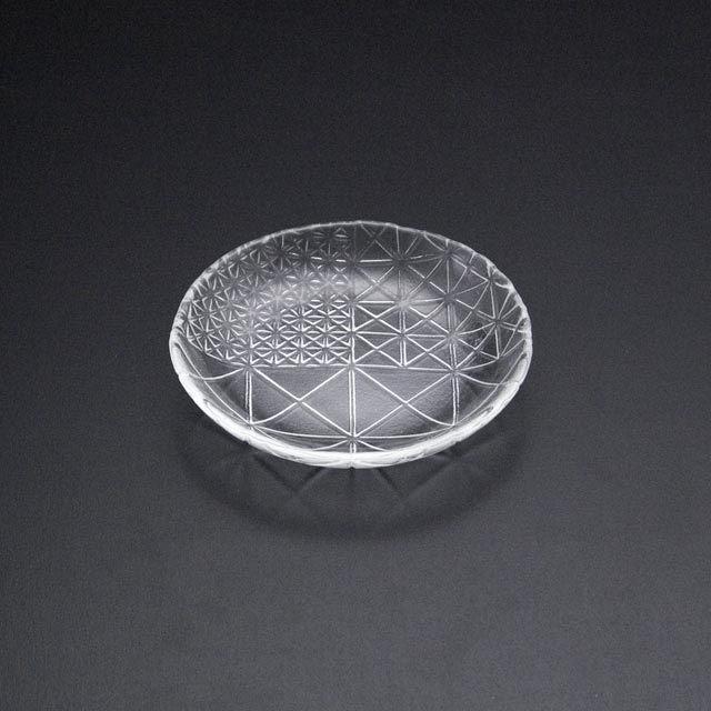 ガラスの皿 舫 深皿2225W