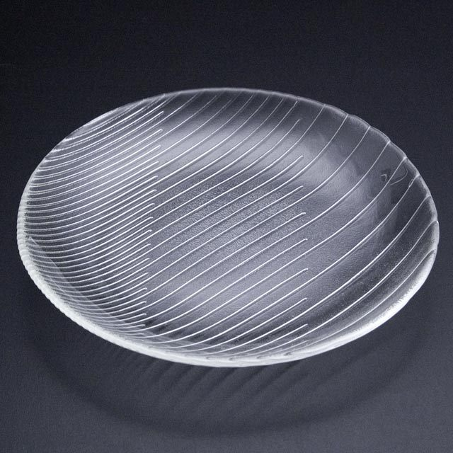 ガラスの皿 舫 大皿2252W