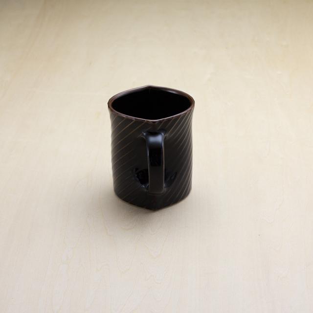 シェル マグカップ 天目