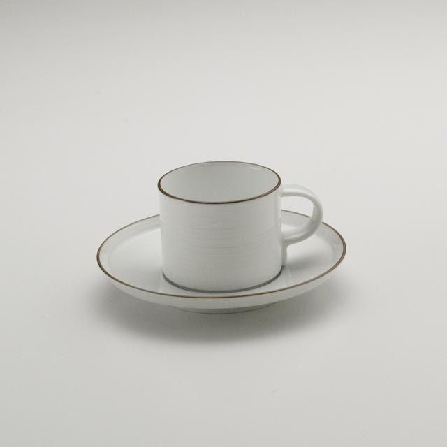 白磁千段 コーヒーc/s