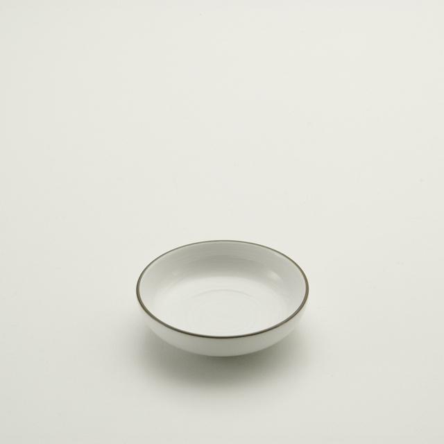 白磁千段 3.0深皿