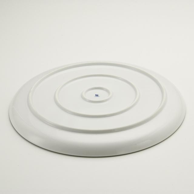 白磁千段 10号平皿