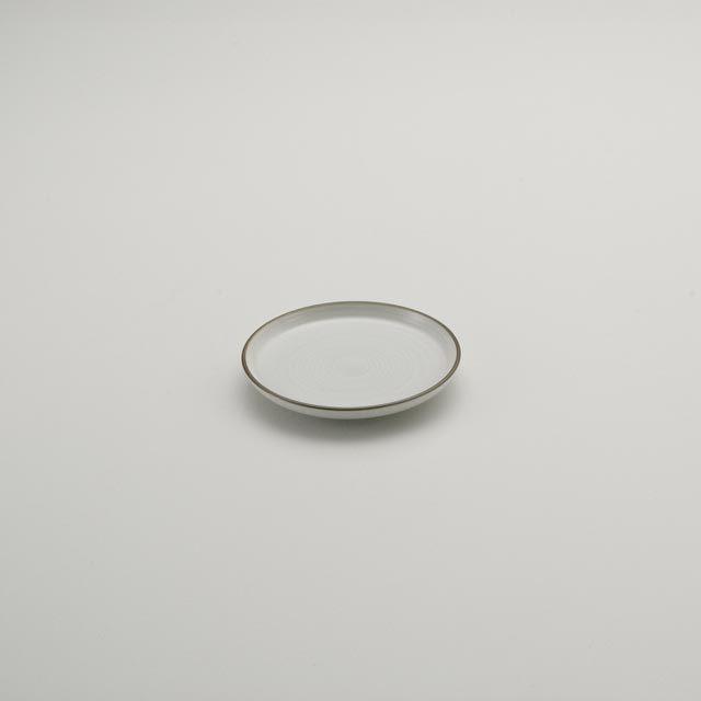 白磁千段 3号平皿