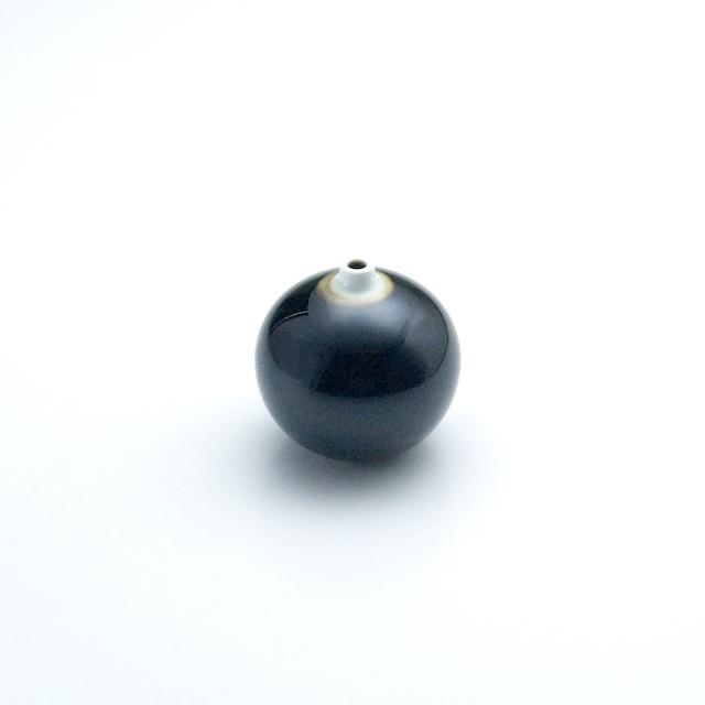 球型ミニ花瓶 天目