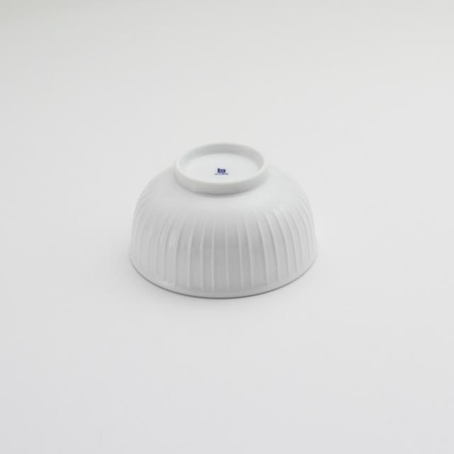 玉縁碗 立筋白磁