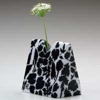 三角花瓶/植物ポジ