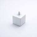 角型ミニ花瓶 白マット