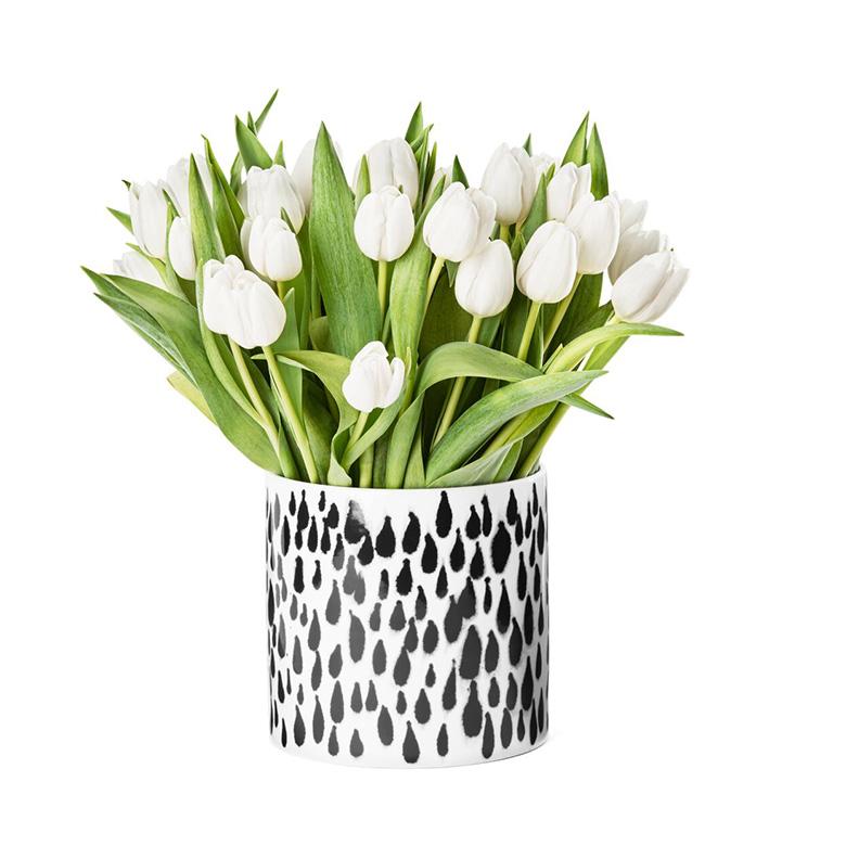 【DESIGN HOUSE Stockholm】Deco vase rain 花瓶 Ann Wahlstrom デザインハウスストックホルム