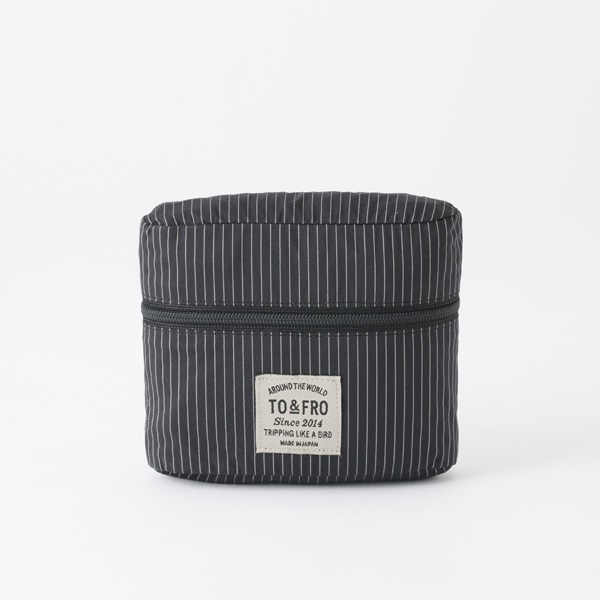 TO&FRO AMENITY POUCH アメニティポーチ 撥水・防水 日本製 石川県