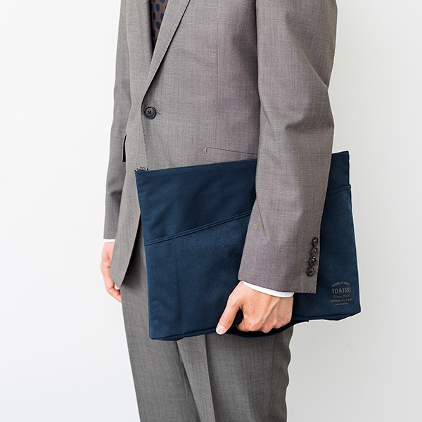 TO&FRO BAG-IN-BAG ビジネスバッグの中に入れて使えるバッグインバッグ 日本製 石川県