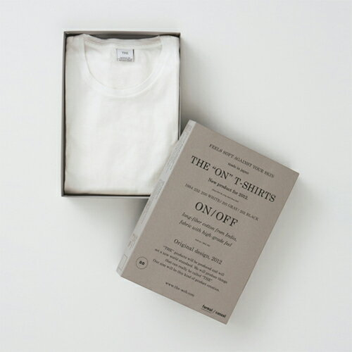 "THE""""ON""""SHIRTSWHITEザ・ONT-シャツ"