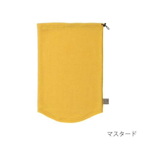 TO&FRO 2WAYフリースネックウォーマー 薄くて軽い TO&FRO NECK WARMER