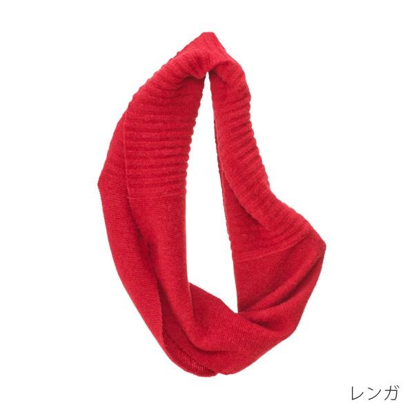 【mino】ベビーアルパカ ニットスヌード mino tsutsu baby alpaca & wool