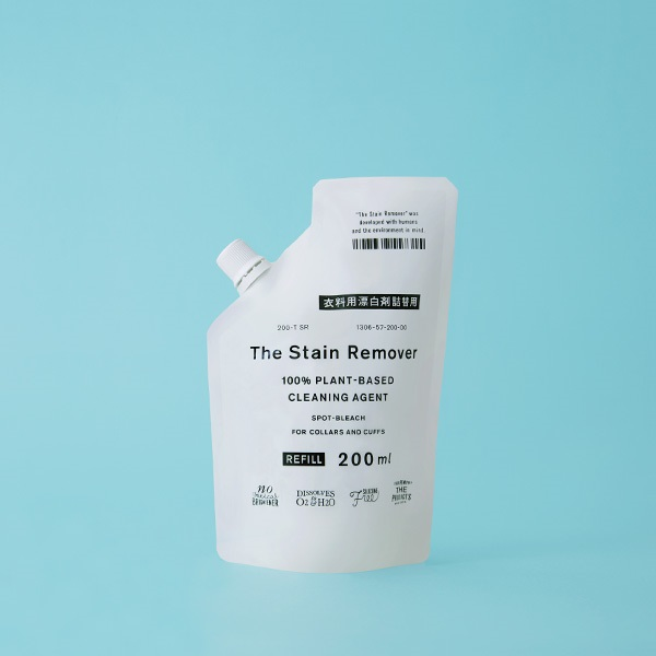 THE 衣料用漂白剤 The Stain Remover 詰替用 200ml 天然素材