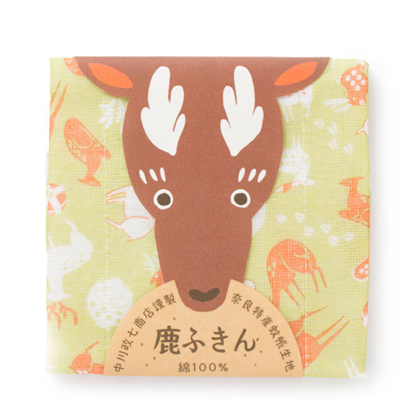 中川政七商店 鹿ふきん 蚊帳生地 日本製 贈り物 ギフト