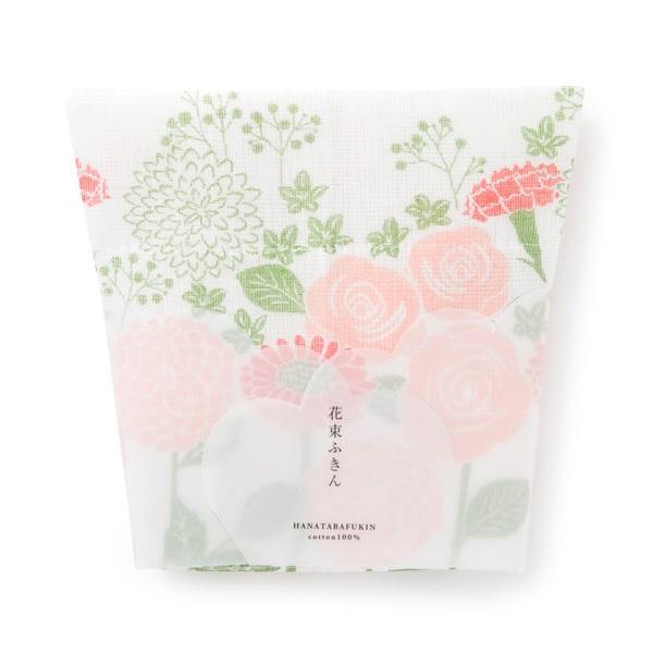 【中川政七商店】花束ふきん 綿100% 日本製 蚊帳生地5枚仕立て 贈り物に