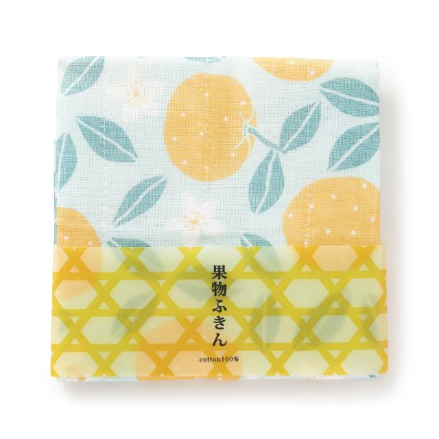 中川政七商店 果物ふきん なつみかん 蚊帳生地 日本製