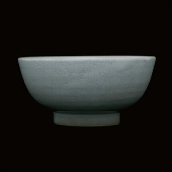 THE飯茶碗益子締土/糠白釉