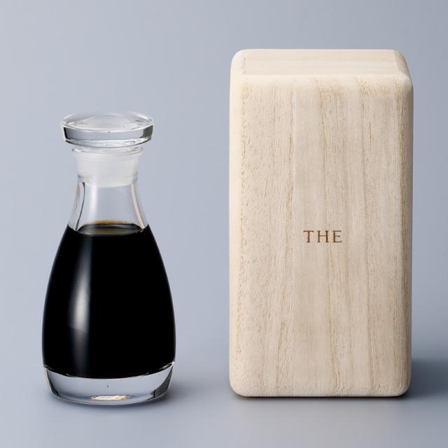 THE 醤油差し CLEAR 80ml  液だれしない醤油差し 醤油瓶 醤油さし 木箱付き ギフト 贈り物 送料無料